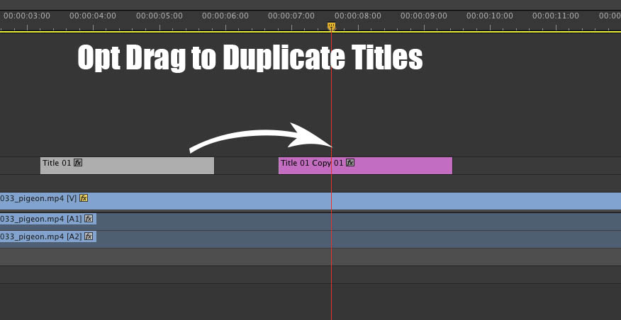 Rev UP Tech - Some Power Titling Tips in Premiere Pro